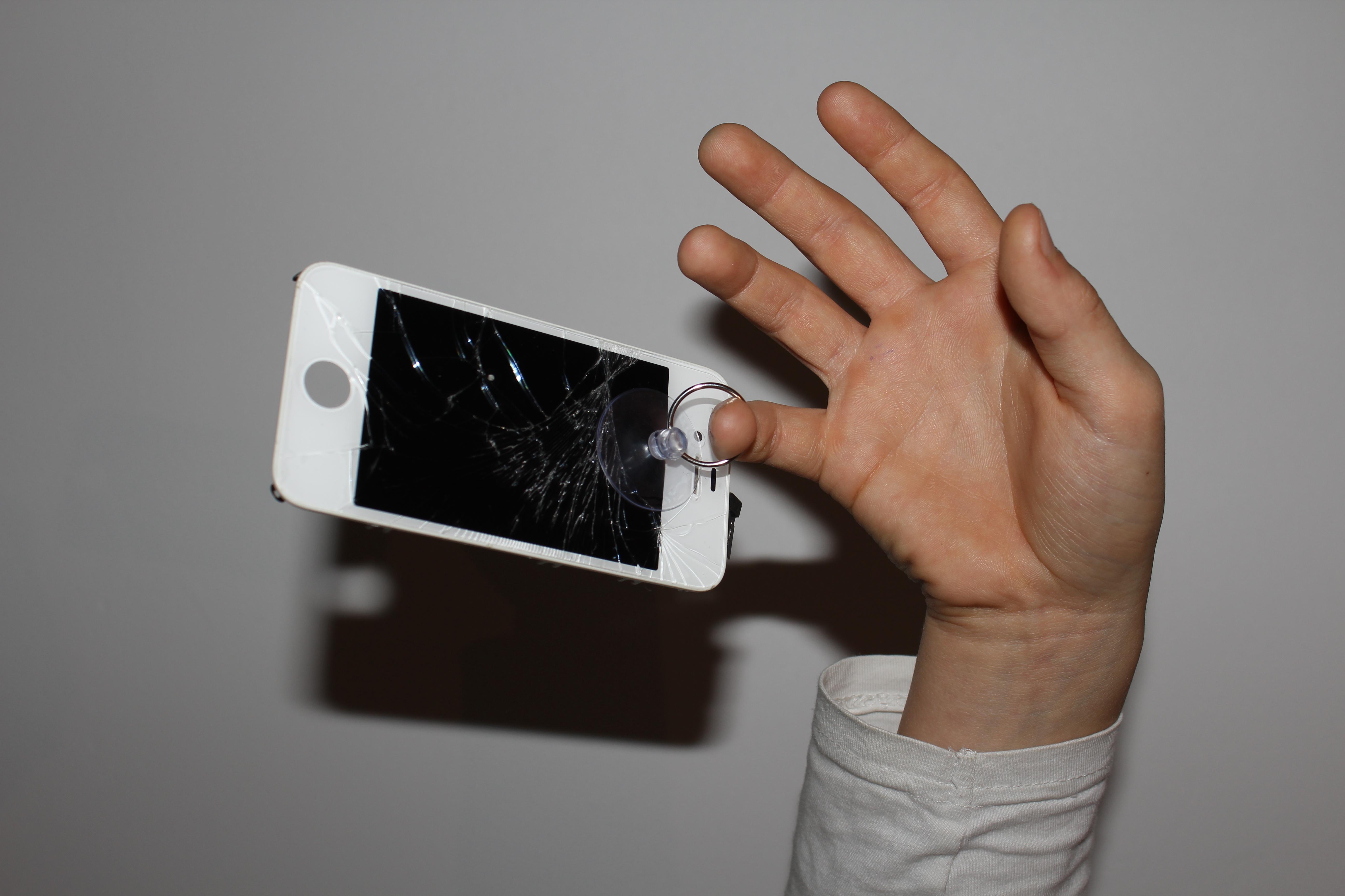 Crash test écran iPhone 4