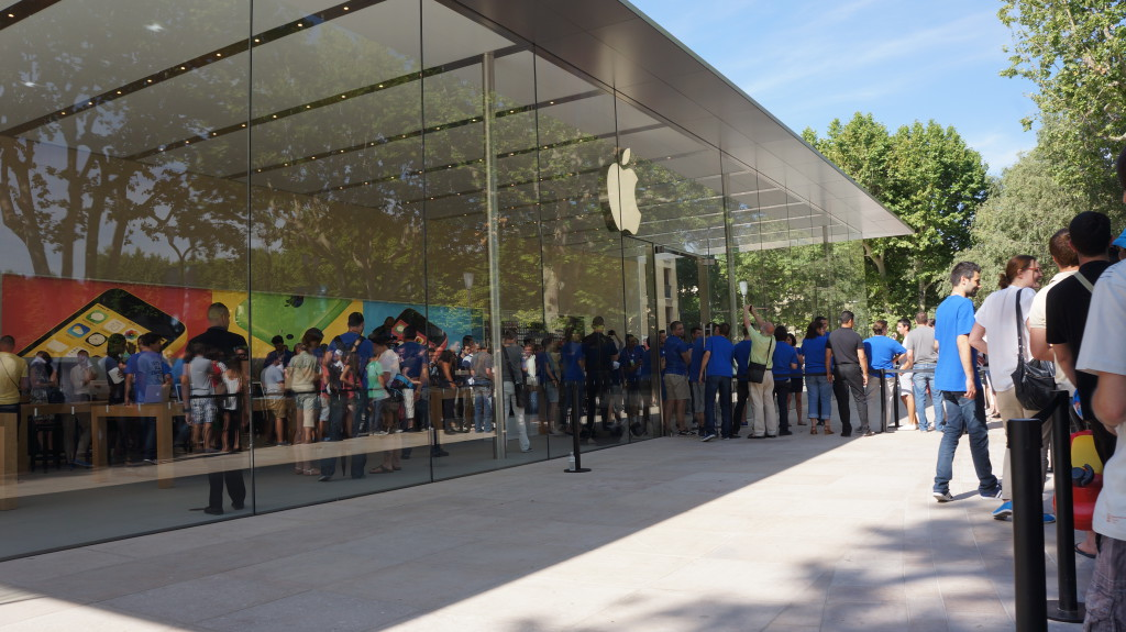 L'Apple Store d'Aix a ouvert