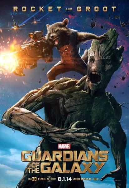 Rocket et Groot surement les personnages les plus attachants