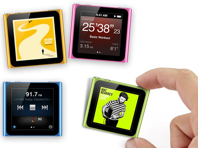 comment mettre des application dans un ipode nano