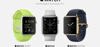Apple Watch : Toutes les infos sur son lancement