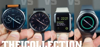 Moto 360 VS Huawei Watch VS Apple Watch VS Gear S2