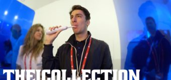 Brosse à dents connectée, smartphone en bois [MWC16]
